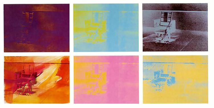 Electric Chair 1971 Andy Warhol