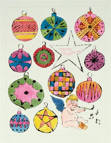 Fairy and Christmas Ornaments - Andy Warhol