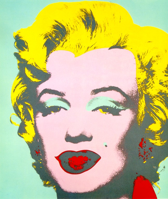 Extrem Marilyn, 1967 - Andy Warhol - WikiArt.org IO94