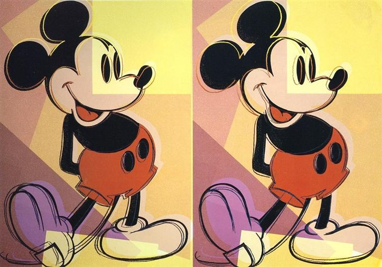 Mickey, 1982 - Andy Warhol