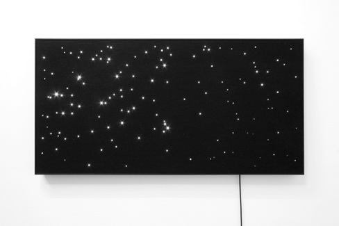 Night Sky: Orion.2, 2011 - Angela Bulloch