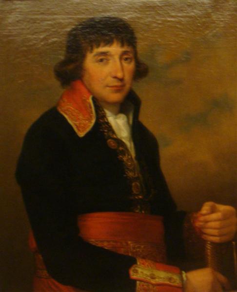 Augustin de Lespinasse, 1798 - Angelika Kauffmann
