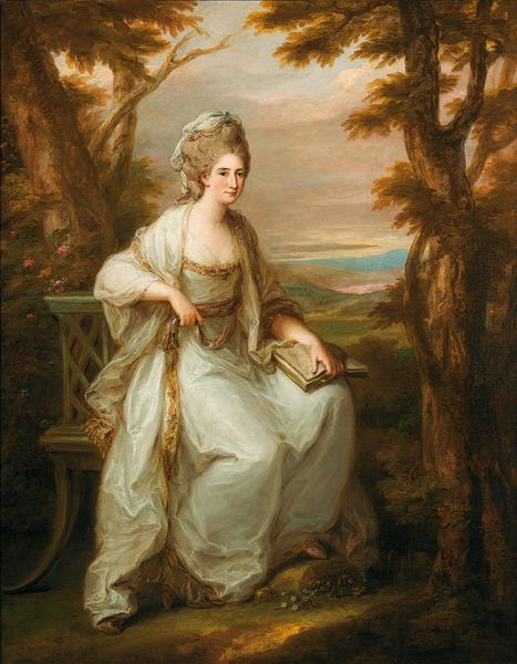 Portrait of Anne Loudon, Lady Henderson of Fordall, 1771 - Angelica Kauffman