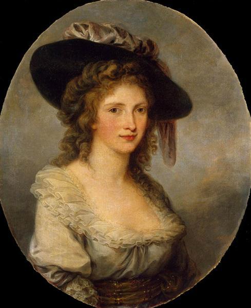 Self-portrait, 1785 - Angelica Kauffmann