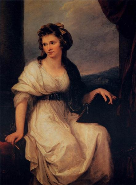 Self-portrait, 1787 - Angelika Kauffmann