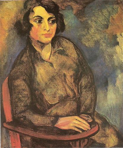 A estudante russa - Anita Malfatti