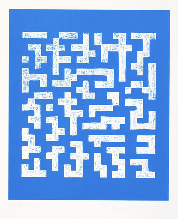 Double Impression IV, 1978 - Anni Albers