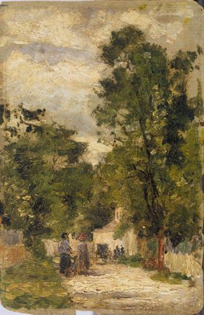 Rua de Barbizon, 1879 - António de Carvalho da Silva Porto