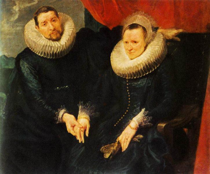 Portrait of a Married Couple - Anthony van Dyck