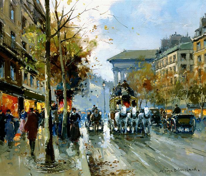 Boulevard de la Madeleine - Antoine Blanchard
