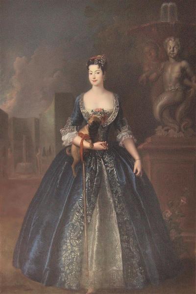 Anna Karolina Orzelska, c.1728 - Antoine Pesne