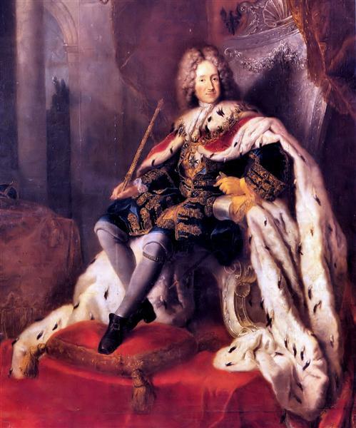 Frederik I of Prussia - Antoine Pesne