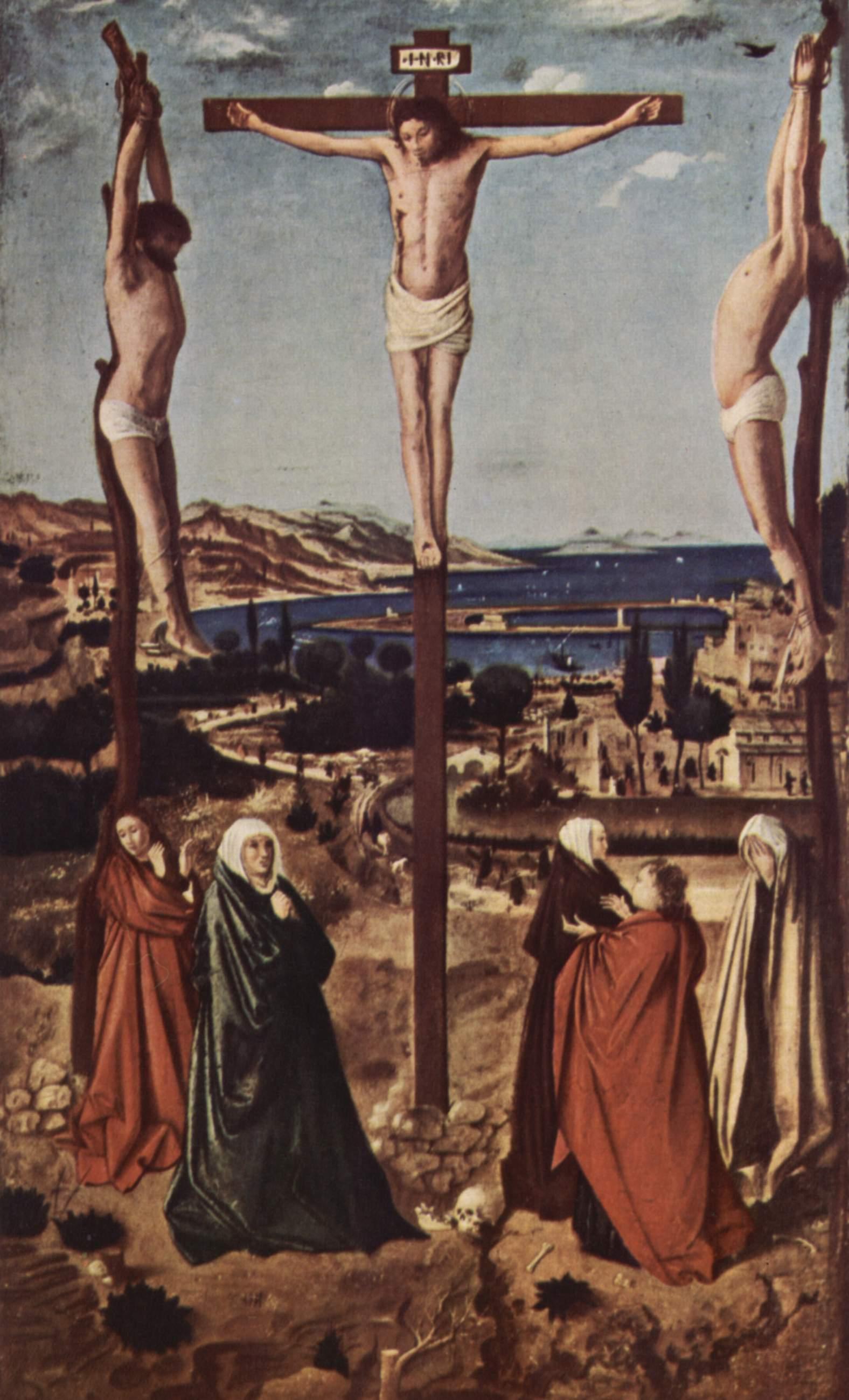Antonello da Messina Crucifixion Crucifixion Antonello da
