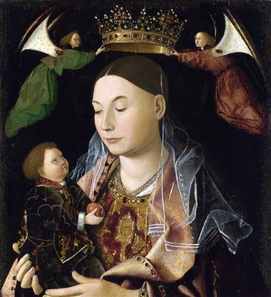 Madonna and Child (Salting Madonna), c.1460 - Antonello da Messina