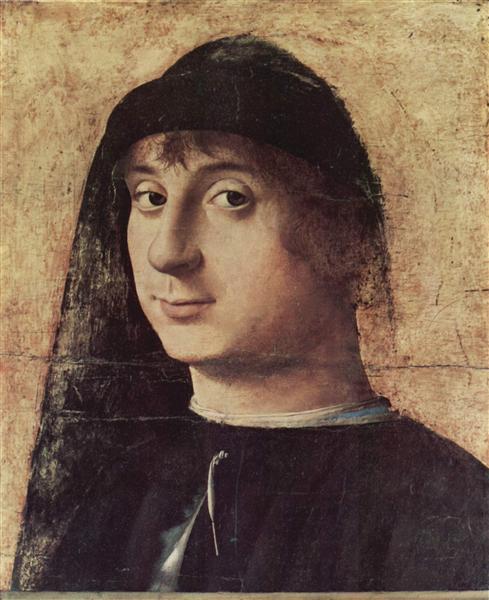 Portrait of a Man, 1470 - Antonello da Messina