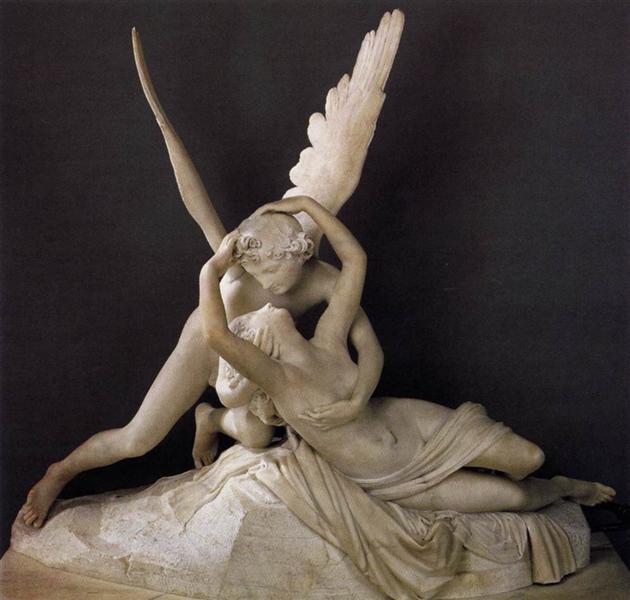 Cupid and Psyche, 1793 - Antonio Canova