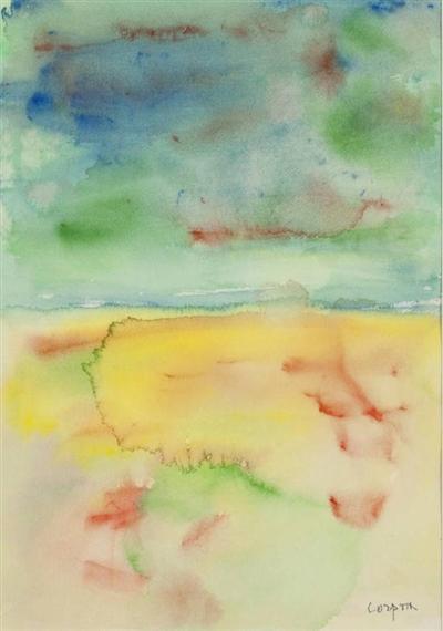 Laguna e deserto, 1992 - Antonio Corpora