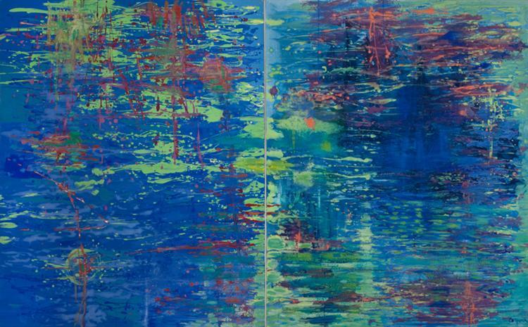 Homenagem a Monet, 1986 - Antonio Corpora