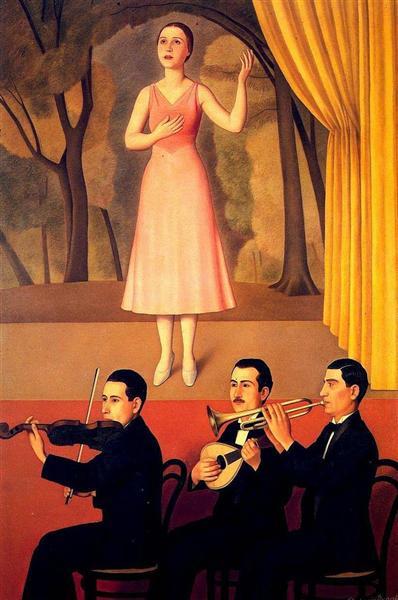 Canzone, 1934 - Antonio Donghi