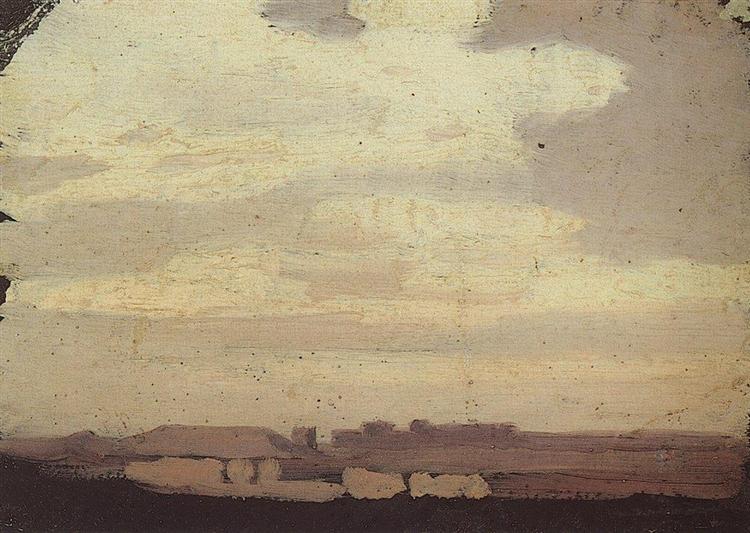 Облака, 1875 - Архип Куинджи