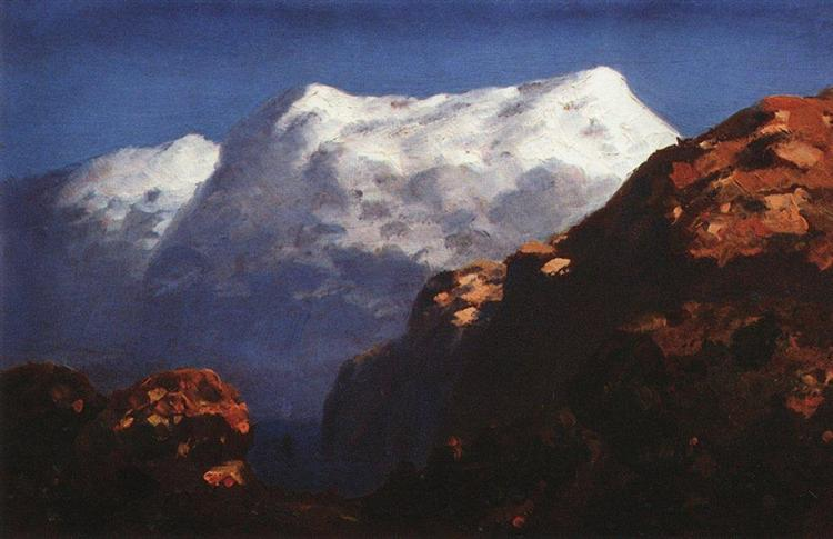 Mountains, c.1895 - Архип Куїнджі