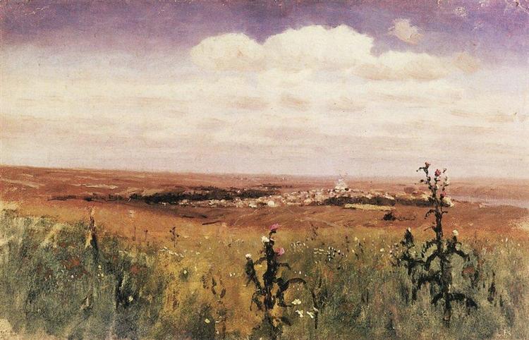 Steppe, 1875 - Arkhip Kuindzhi