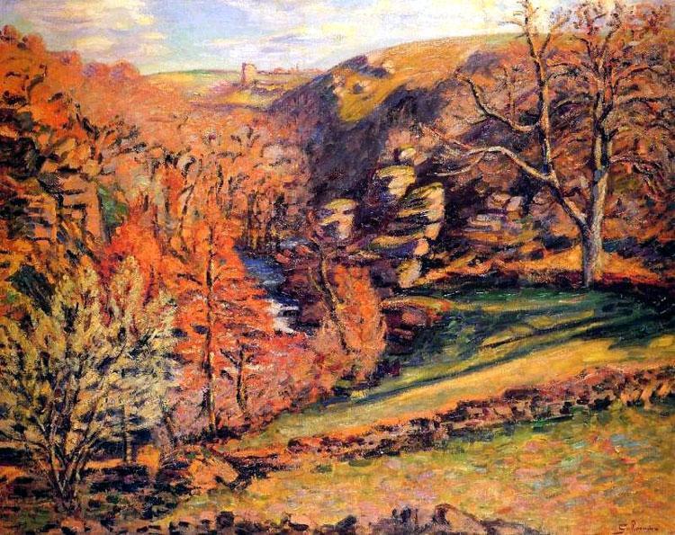 Madness Ravine, Crozant, 1894 - Armand Guillaumin