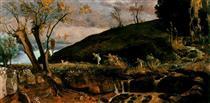 The Hunt of Diana - Arnold Böcklin