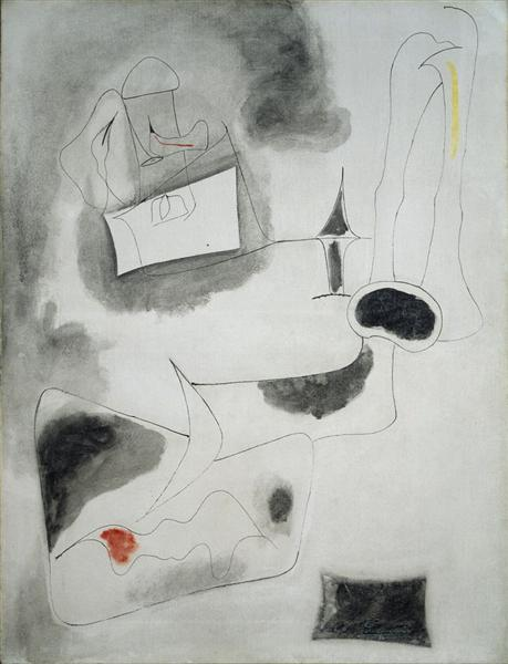 Nude, 1946 - Arshile Gorky