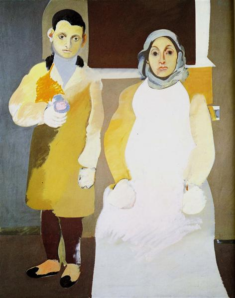 The Artist with His Mother, 1926 - 1936 - Arshile Gorky