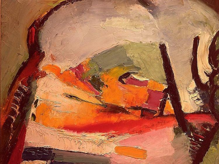 Landscape, 1921 - Arthur Beecher Carles