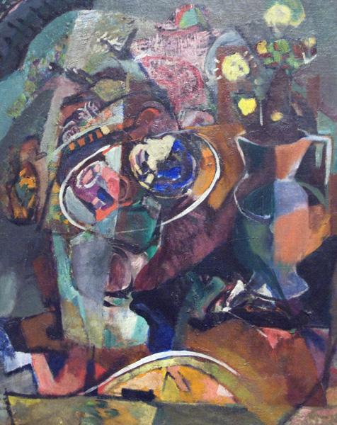 Table with Flowers, 1930 - Arthur Beecher Carles