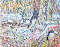 Untitled Landscape, Bellport (No.224) - Arthur Pinajian