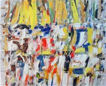 Untitled Landscape, Bellport (No.256) - Arthur Pinajian