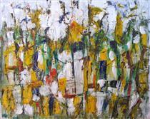 Untitled Landscape, Woodstock (No.42) - Arthur Pinajian