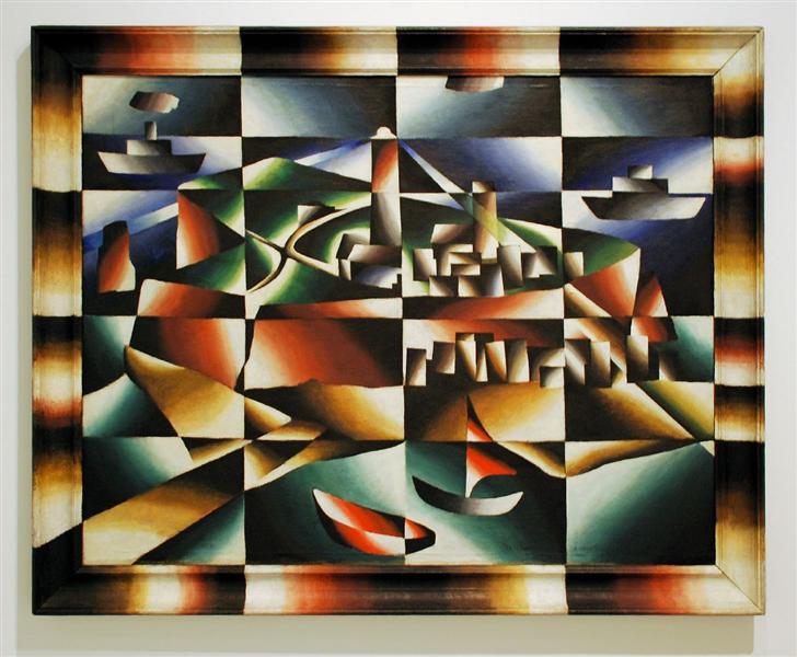 Heligoland, 1923 - Arthur Segal