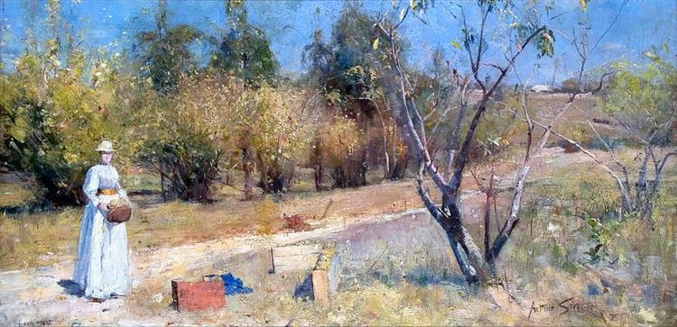 Autumn, 1889 - Arthur Streeton