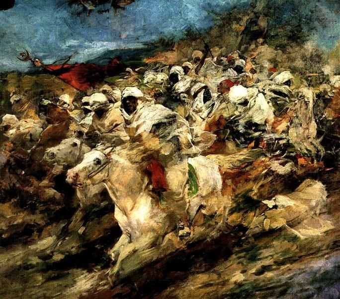 Fantasia arabe, 1889 - Arturo Michelena