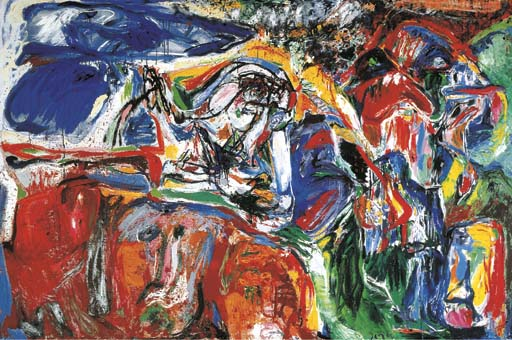 In the Beginning Was the Image, 1965 - Asger Jorn