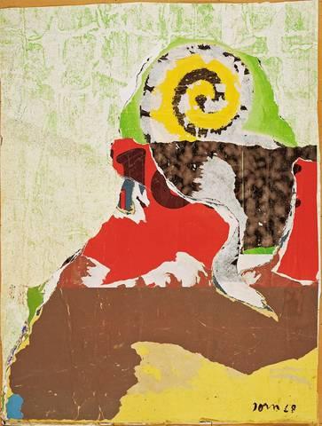 L'Escargodot, 1968 - Asger Jorn