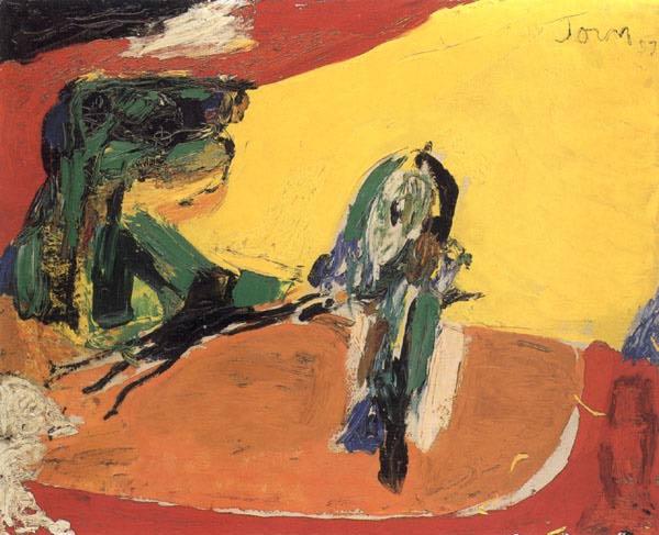 Le Soldat et son passé, 1957 - Asger Jorn