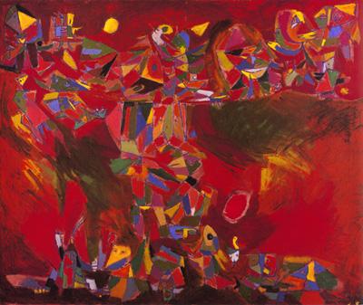 Vision Rouge, 1944 - Asger Jorn