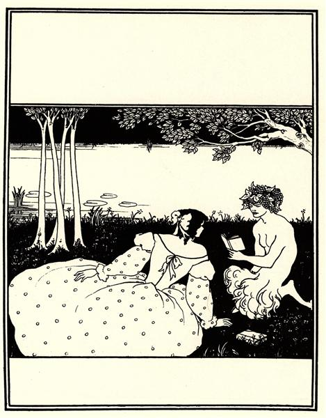 Front Cover for The Yellow Book Vol. V - Aubrey Beardsley