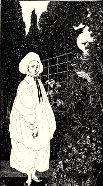 "Frontispiece to ""The Pierrot of the Minute"", 1897 - Aubrey Beardsley"
