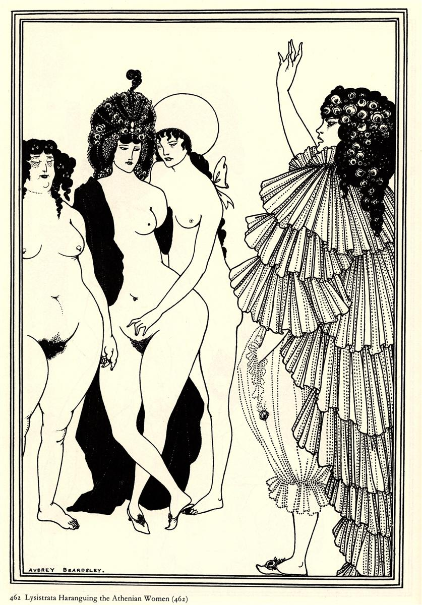 http://uploads7.wikipaintings.org/images/aubrey-beardsley/lysistrata-haranguing-the-athenian-women.jpg!HD.jpg