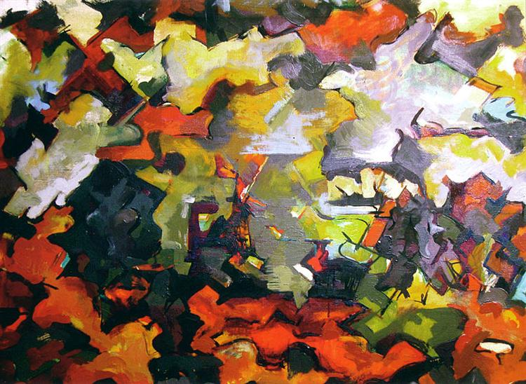 Abstract Landscape, 1950 - Audrey Flack