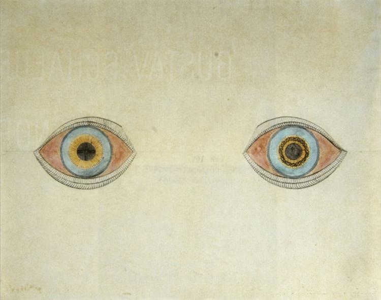 My Eyes in the Time of Apparition, 1913 - August Natterer