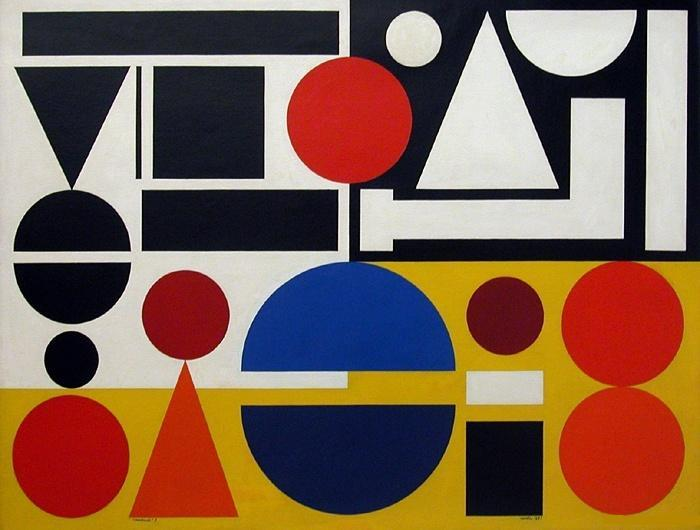 Friday i 1951 auguste herbin for Auguste herbin