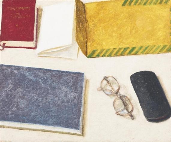 Canadian Envelope, 1977 - Avigdor Arikha