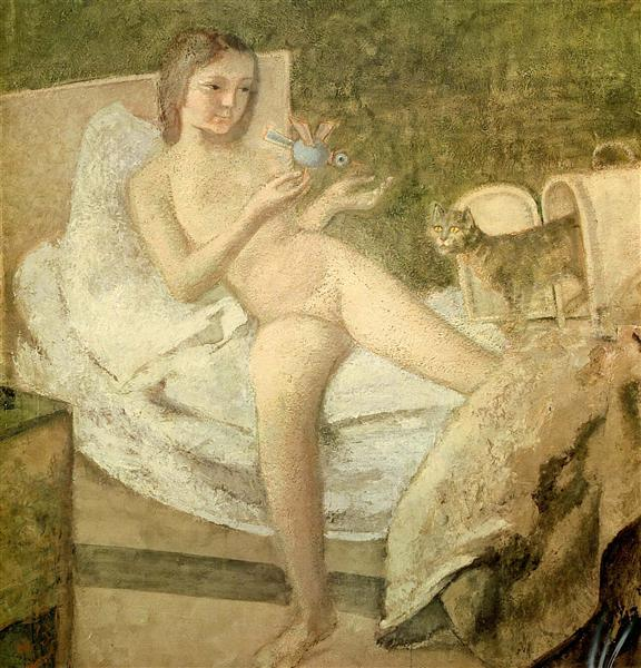 Getting Up, c.1977 - Balthus